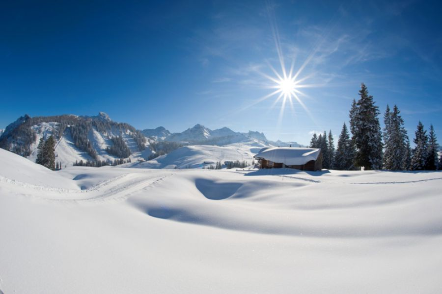 Winterlandschaft Lofer